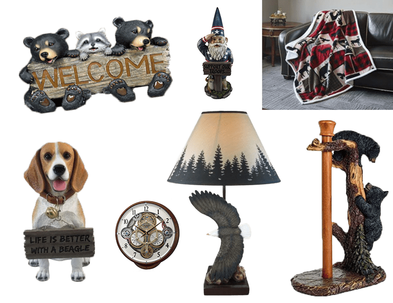 Home Decor Mountain Decor Three Bears General Store